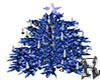 Candlelit Tree Blue