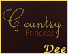 Wall/Floor Country Sign