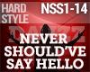 HS - Never Should've Say
