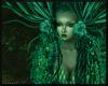 Snake Lady ~ Sea Green