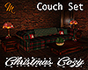 [M] Christmas Couch Set