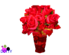 christmas roses red