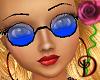 [D] Blue Lennon Glasses