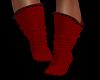 Red Naughty Socks