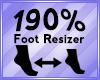 Foot Scaler 190%