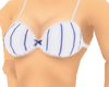 !AM!Blue&WhiteStripe Bra