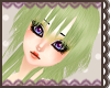 Green Orika hair