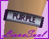 Purple Armband