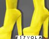 Kai Leather Form-Yellow