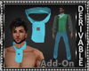 Ascot Tie Add-On Mesh