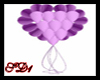 SD Wed Heart Balloons