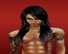 (TVS) Male Hair Blck-Red