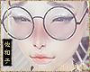 爽子Round Glasses B