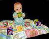 Realistic Baby w/ Blocks