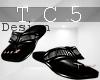 Vintage black sandals
