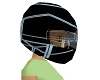 female tron blue helmet