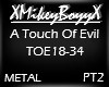 A Touch Of Evil - PT2