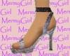 Lilac Textured Heels