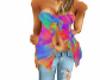 hippie girl top