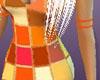 Orange Armband, Left Arm