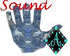 Ama{StoneHandChair blue