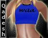 !Q! Misa Top Blue