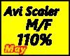 Avi Scaler 110 %
