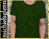 Casual t-shirt darkgreen