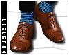 d| Brogues/Blue Socks