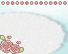 ♡ White furry rug