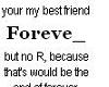 *R* My Best Friend