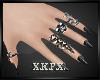 -X K- Gothic Rings