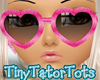 Kids Hot Pink Glasses