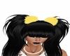 yellow hair puffs
