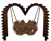 Brown Kissing Swing