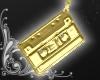 Cassette Earrings [gold]