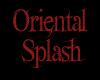 Oriental splash