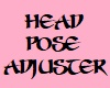 Head Pose Adjuster [F]