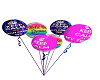 twinnies party ballons