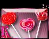 *R* Lollipops Sticker