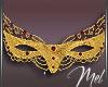 Mel-Carnival Gold Mask