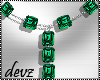 ! Emerald Necklace
