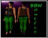 BBW I'm a Star green