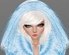 H/Blue Fur Hood