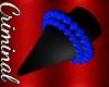 F| Blue Spiked Gauges