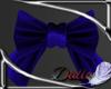 Blue smaller bow