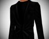 Casual dress coat black