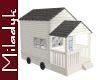 MLK Tiny House White