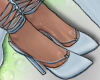 ⓦ KYLIE Blue Heels