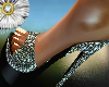 spangle mules shoes